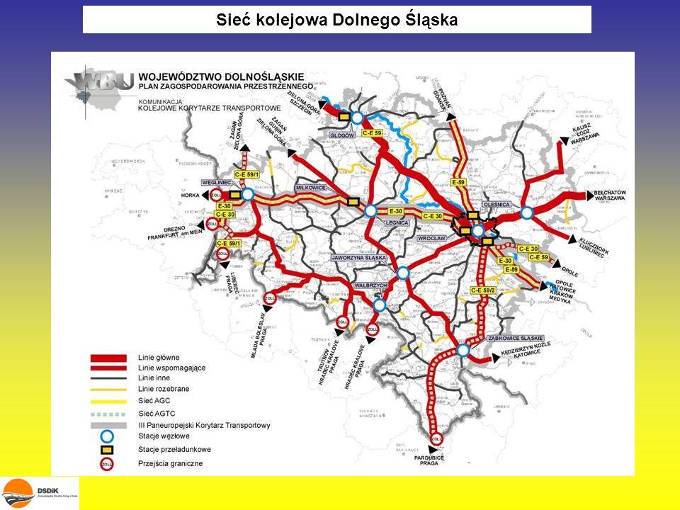 Sieć kolejowa Dolnego Śląska