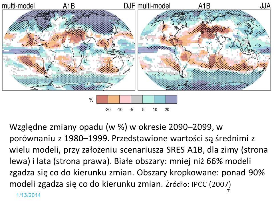 Zmiany klimatyczne Przewidywane konsekwencje dla rolnictwa Możliwości przeciwdziałania Działania dostosowawcze Uwagi końcowe