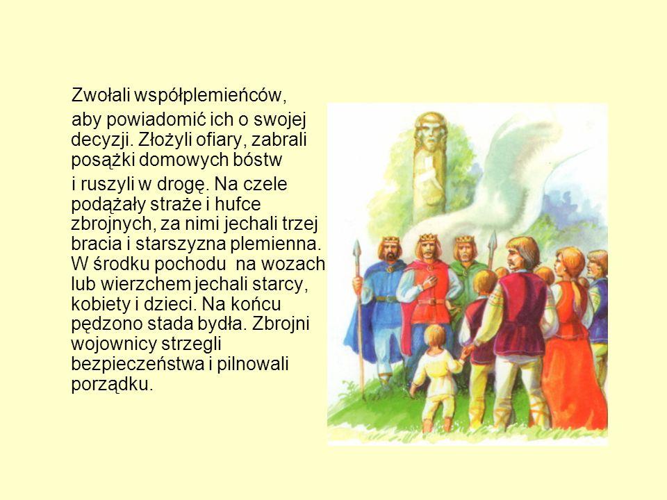 Pierwszy przemówił najstarszy, poważny Rus: Bracia! Tak dalej być nie może. Nasze ziemie są już tak zaludnione, że głód wkrótce zajrzy nam w oczy. Mas