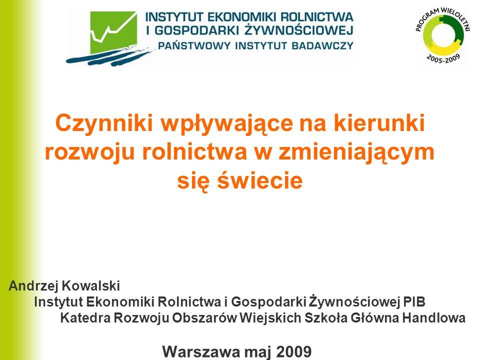 Polski sektor żywnościowy 5 lat po akcesji Wzajemne pełne otwarcie rynków nie było hamulcem rozwoju polskiej gospodarki żywnościowej, lecz stało się dla niej silnym impulsem rozwoju.