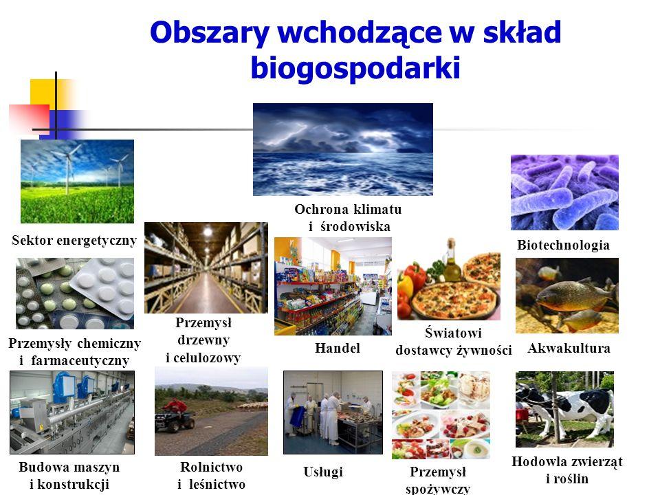 Przemysły chemiczny i farmaceutyczny Usługi Światowi dostawcy żywności Handel Budowa maszyn i konstrukcji Rolnictwo i leśnictwo Biotechnologia Ochrona