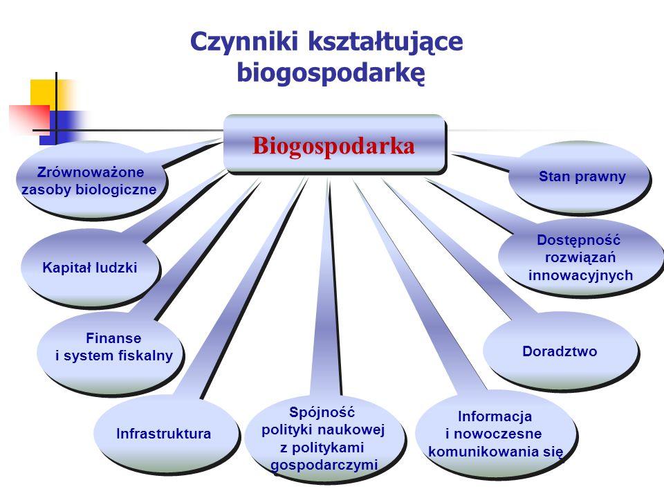 Wnioski Najważniejszymi zagadnieniami w realizacji Narodowego Programu Biogospodarka 2020 będzie: 1.