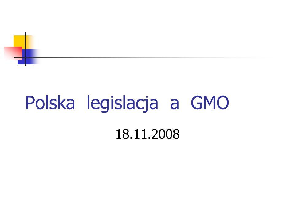 Ramowe Stanowisko Rządu RP w sprawie GMO [7.03.2006r.