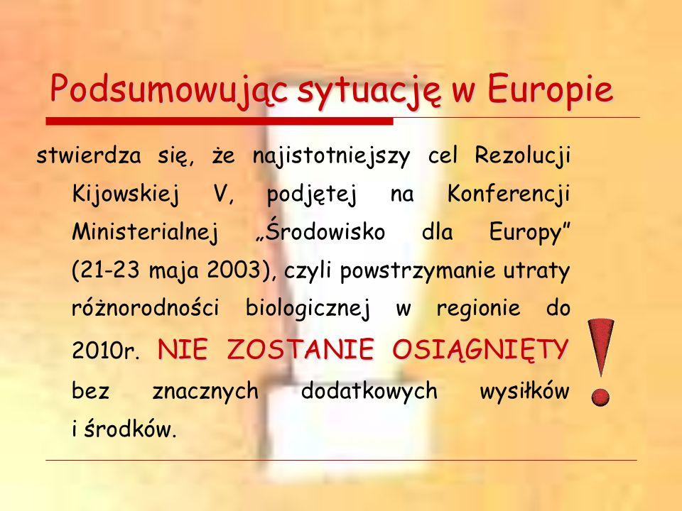 Podsumowując sytuację w Europie NIE ZOSTANIE OSIĄGNIĘTY stwierdza się, że najistotniejszy cel Rezolucji Kijowskiej V, podjętej na Konferencji Minister