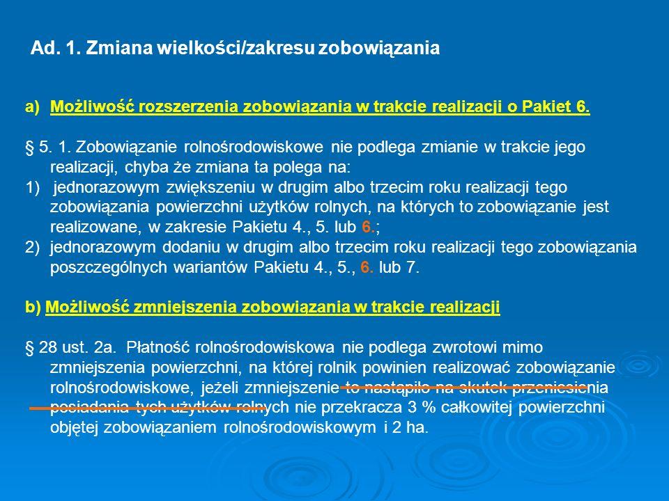V.Zmiany poziomu sankcji § 27 ust.