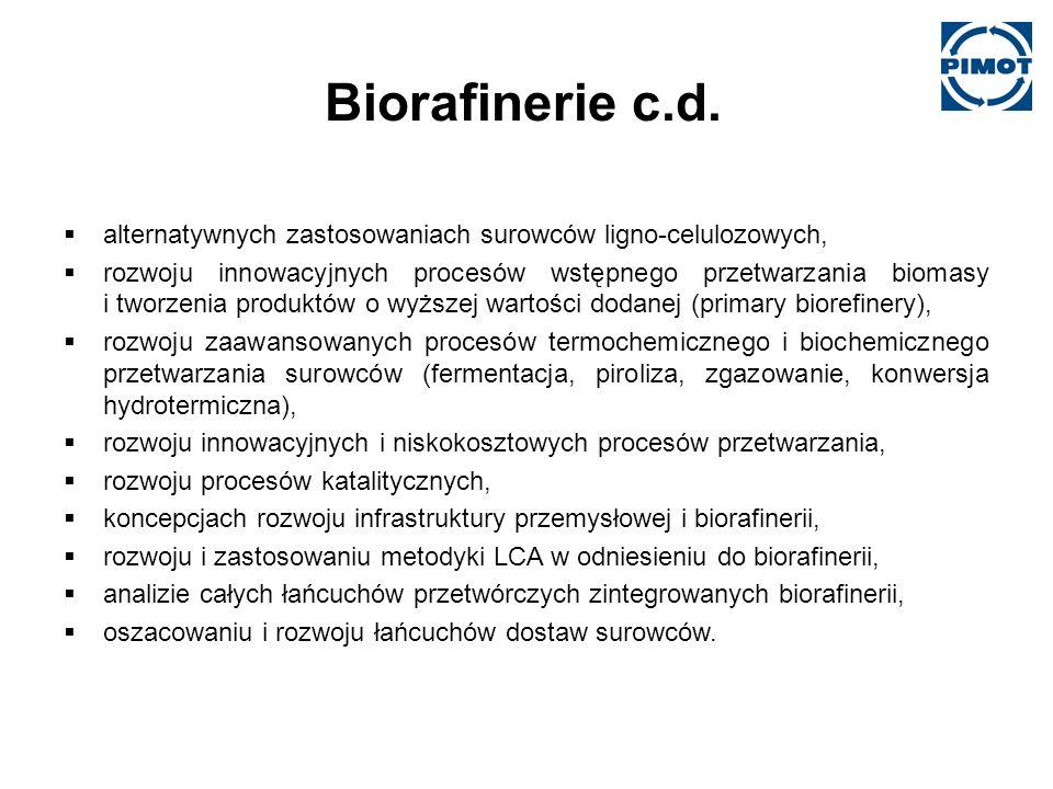 Biorafinerie c.d.