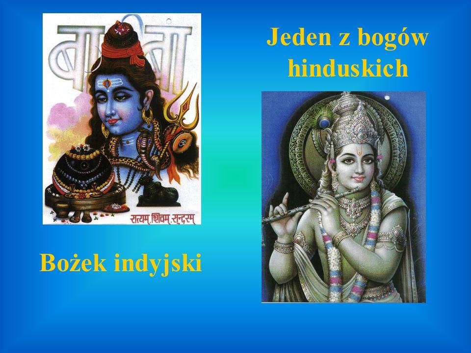 Jeden z bogów hinduskich Bożek indyjski