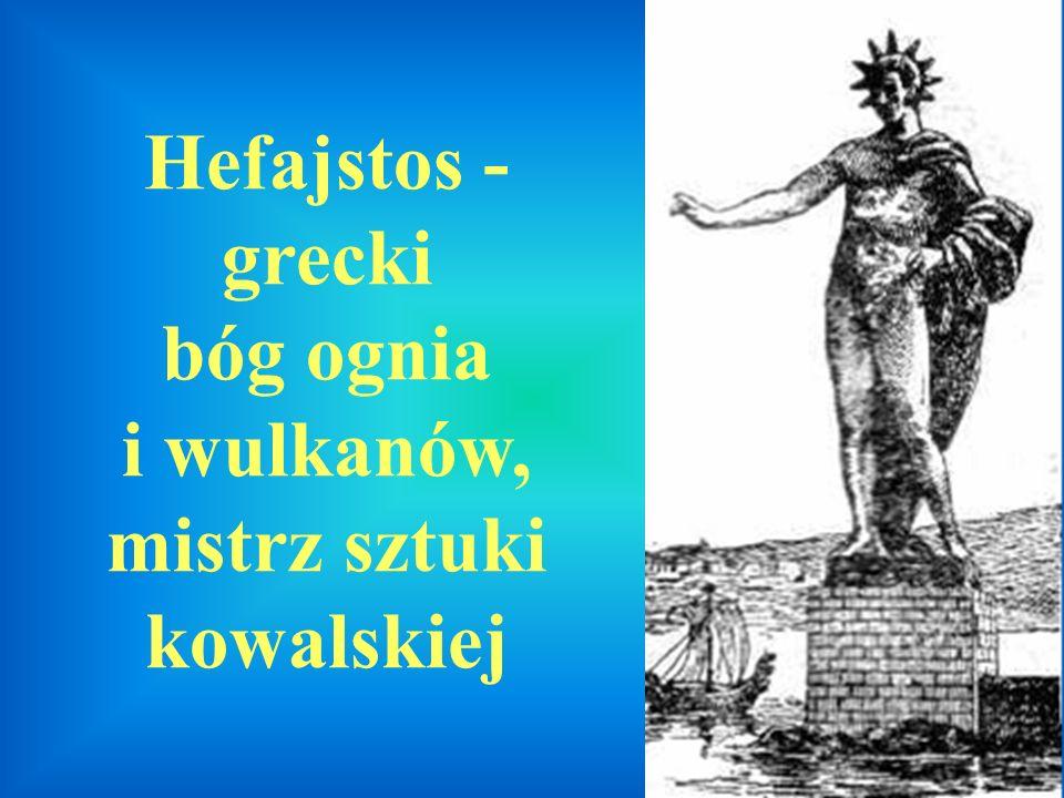 Hefajstos - grecki bóg ognia i wulkanów, mistrz sztuki kowalskiej