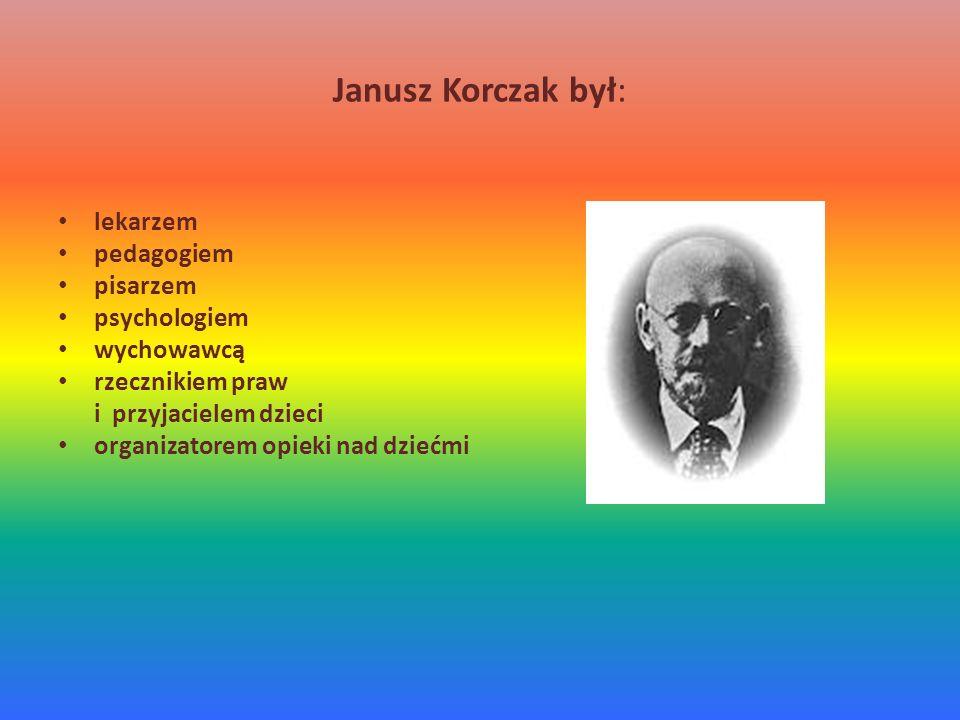 Działalność publicystyczna Janusz Korczak pisał wiele artykułów dla dorosłych o wychowaniu dzieci, które umieszczał w różnych czasopismach, np.