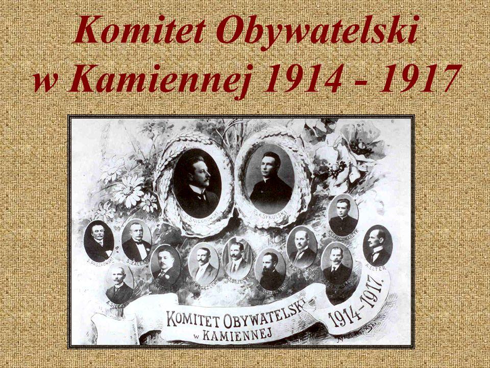 Komitet Obywatelski w Kamiennej 1914 - 1917