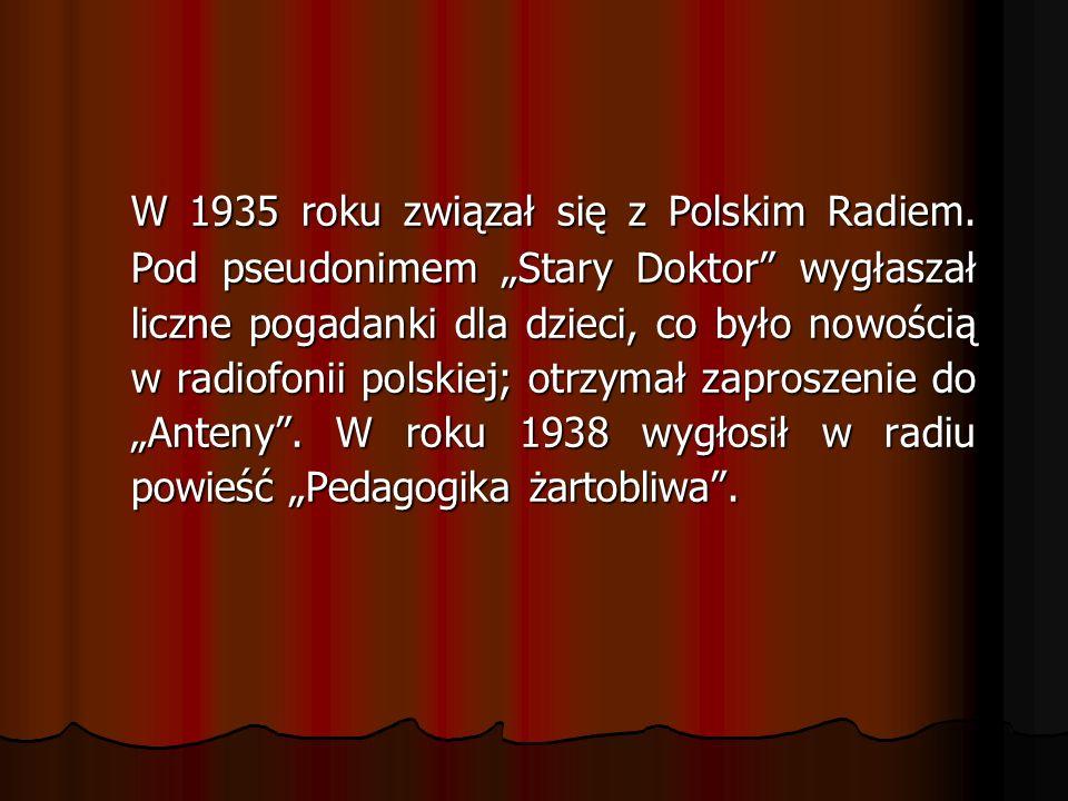 W 1935 roku związał się z Polskim Radiem.