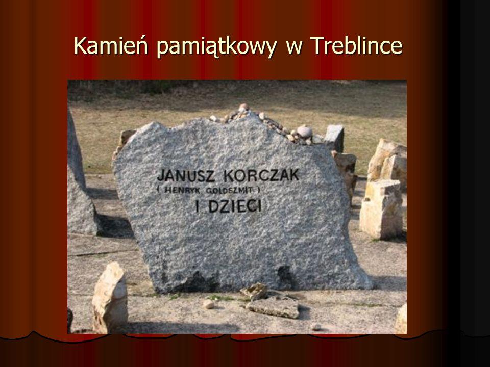 Kamień pamiątkowy w Treblince