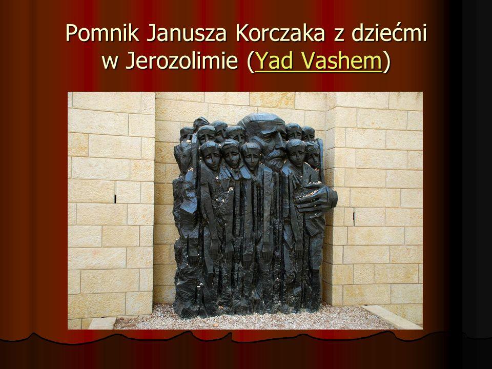 Pomnik Janusza Korczaka z dziećmi w Jerozolimie (Yad Vashem) Yad VashemYad Vashem