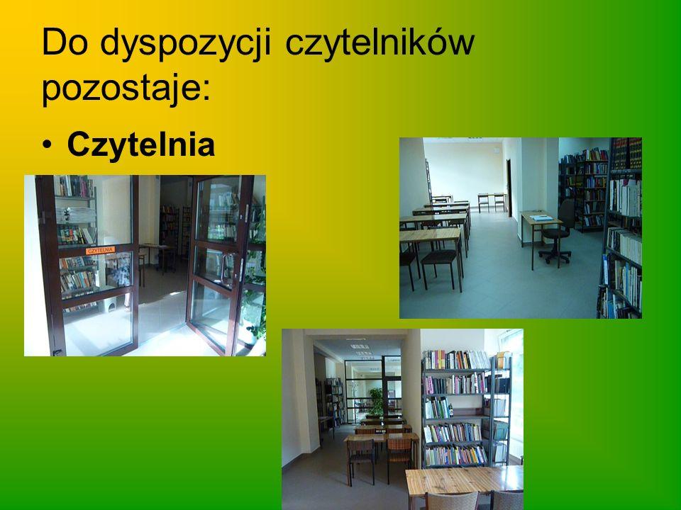 Do dyspozycji czytelników pozostaje: Internetowe Centrum Informacji Multimedialnej