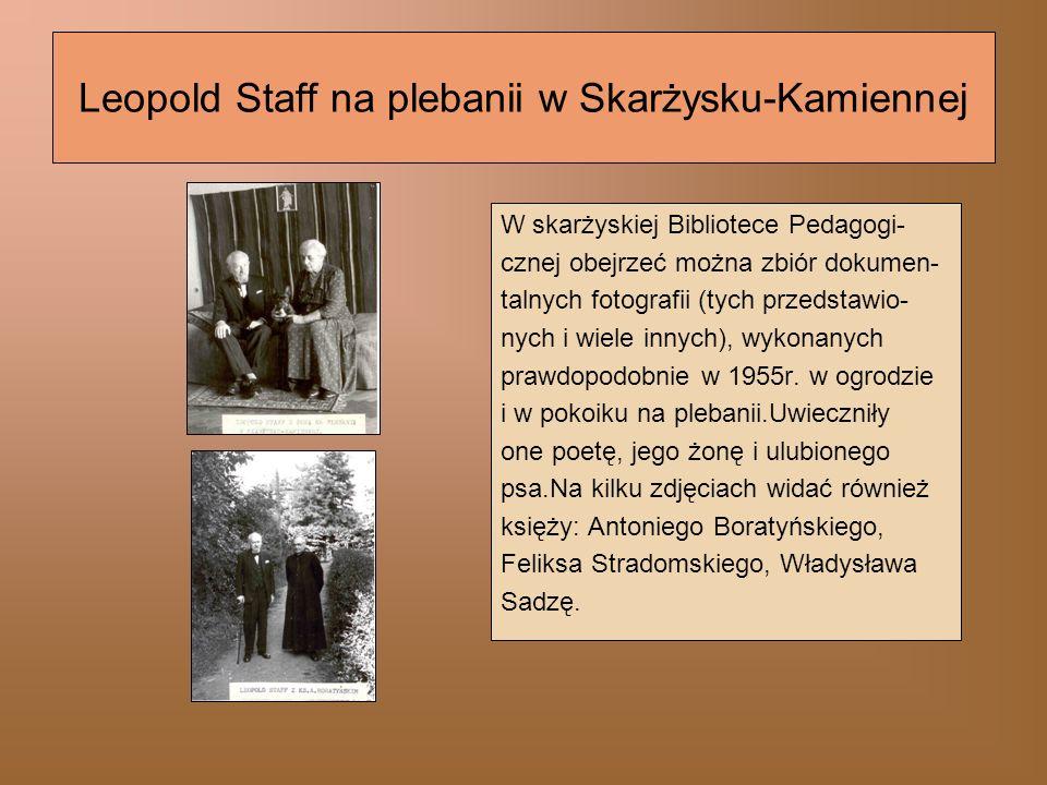 31 maja 1957 r.– śmierć Leopolda Staffa Z 1957 r.