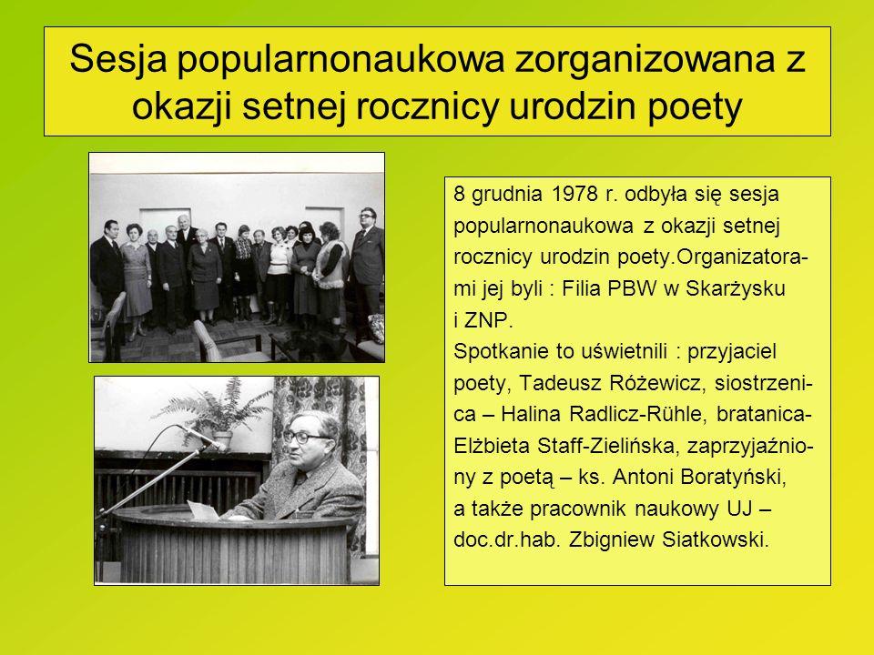 Manuskrypt wiersza Leopolda Staffa Manuskrypt wiersza Leopolda Staffa, napisanego w czasie okupacji, po zniszczeniu 31 maja 1940 r.