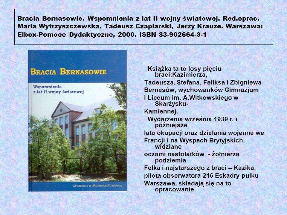 Zemeła Krzysztof.Klasztor i Parafia OO. Franciszkanów w Skarżysku-Kamien- nej 1937-1957-2007.