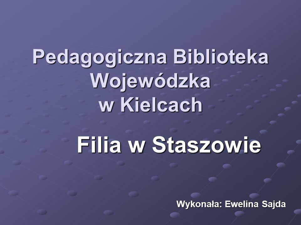 Biblioteka Pedagogiczna w Staszowie ul.