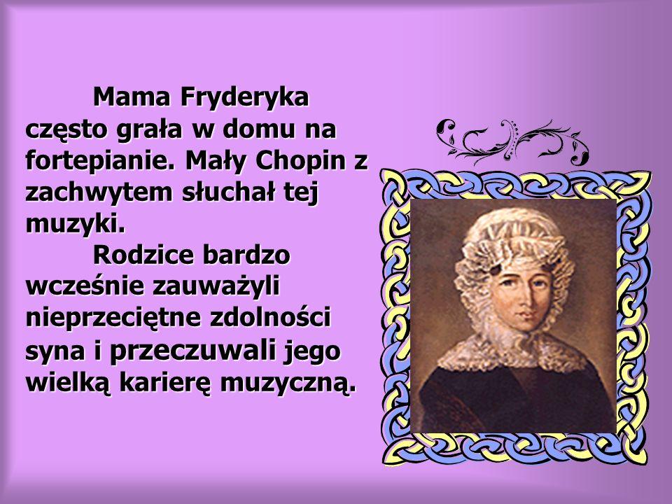RODZEŃSTWO FRYDERYKA CHOPINA Ludwika Izabela Emilia