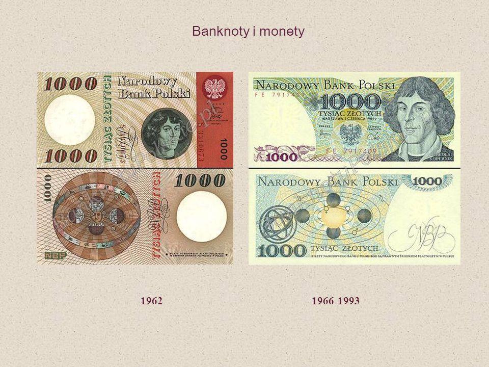 1962 1966-1993 Banknoty i monety