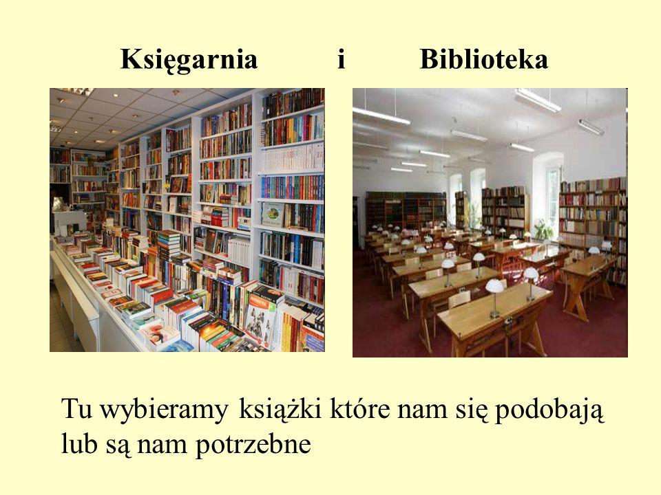 Księgarnia i Biblioteka Tu wybieramy książki które nam się podobają lub są nam potrzebne