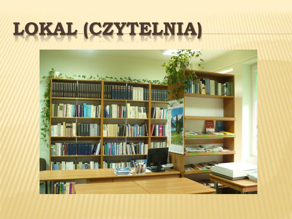 USŁUGI Wypożyczanie do domu Udostępnianie na miejscu wydawnictw informacyjnych, czasopism Pomoc w doborze literatury na określony temat Prowadzenie lekcji bibliotecznych i przedmiotowo-bibliotecznych dla zainteresowanych uczniów szkół wszystkich typów.
