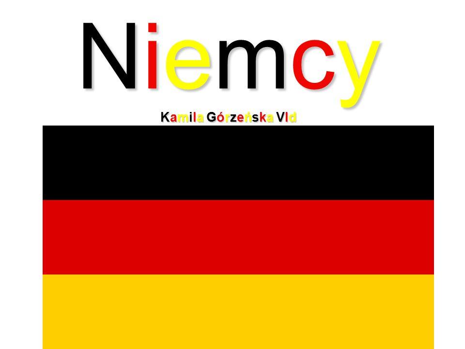 Niemcy - w skrócie Niemcy - w skrócie W języku polskim nazwa Niemcy oznacza tyle co niemi, niemowy.