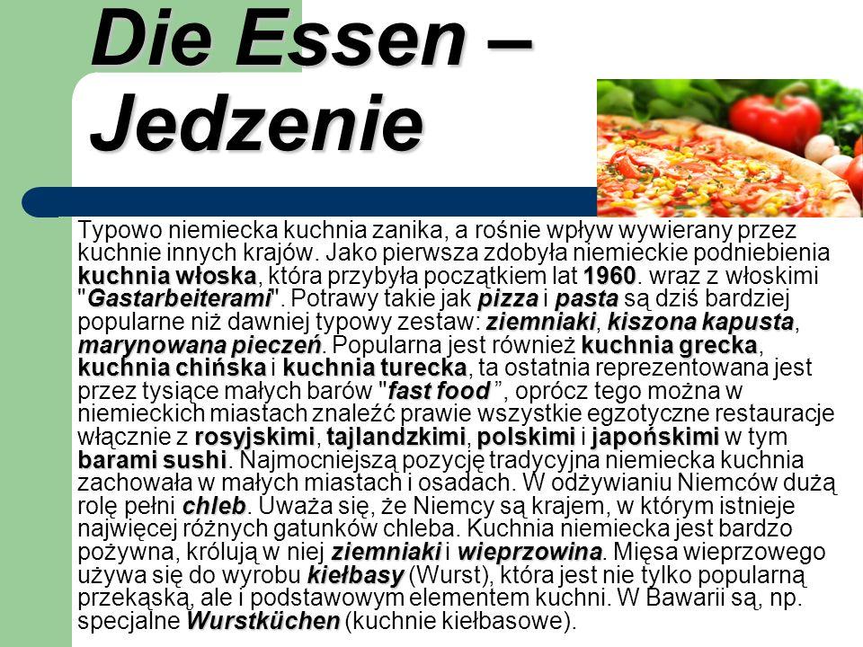 Die Essen – Jedzenie kuchnia włoska1960 Gastarbeiteramipizzapasta ziemniakikiszona kapusta marynowana pieczeńkuchnia grecka kuchnia chińskakuchnia tur