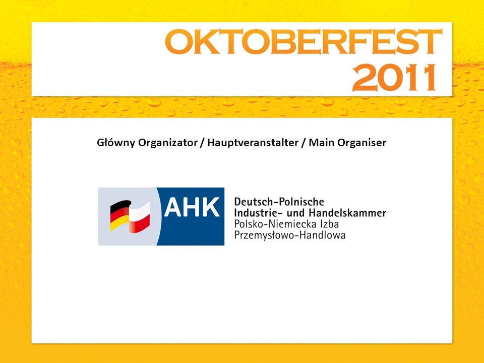 Główny Organizator / Hauptveranstalter / Main Organiser