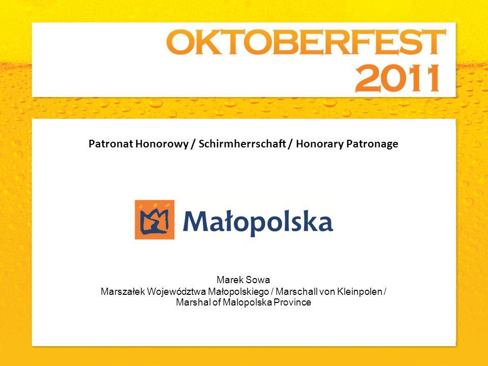 Marek Sowa Marszałek Województwa Małopolskiego / Marschall von Kleinpolen / Marshal of Malopolska Province