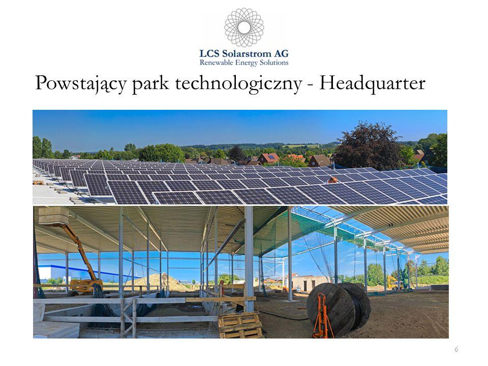 6 Powstający park technologiczny - Headquarter