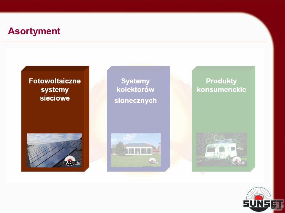 Systemy kolektorów słonecznych Asortyment SOLAR POWER SYSTEMS Produkty konsumenckie Fotowoltaiczne systemy sieciowe
