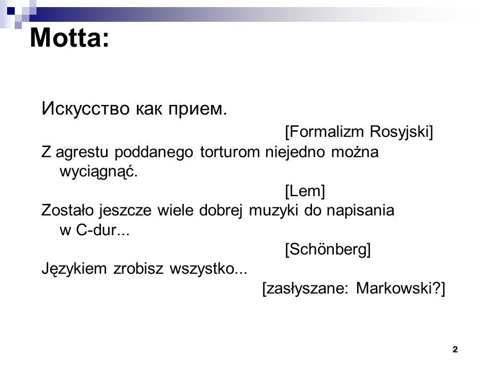 13 Zadanie 1 Poprawić fonet Barańczaka: