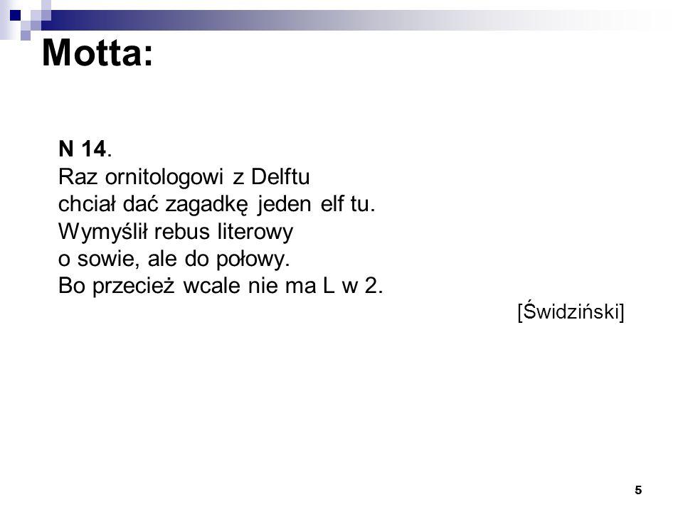 16 Zadanie 3 Przełożyć na polski limeryk Mr.