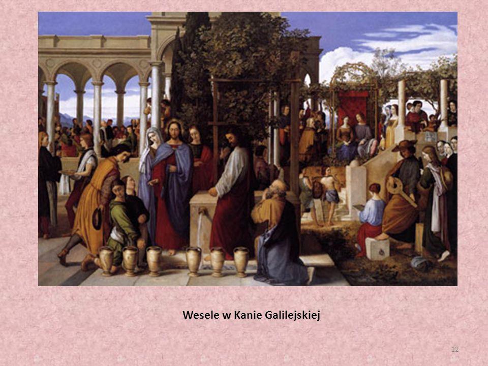 12 Wesele w Kanie Galilejskiej