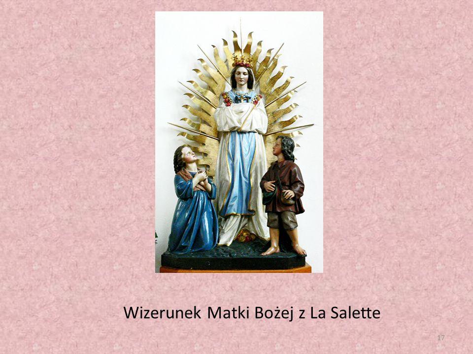 17 Wizerunek Matki Bożej z La Salette