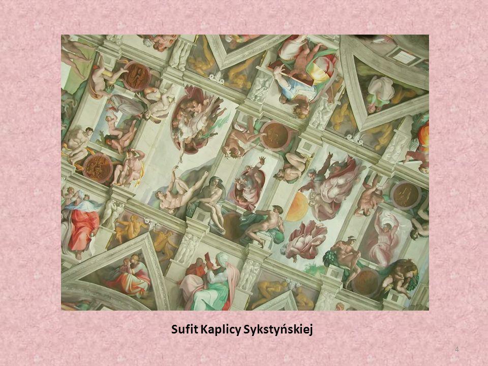 Sufit Kaplicy Sykstyńskiej 4