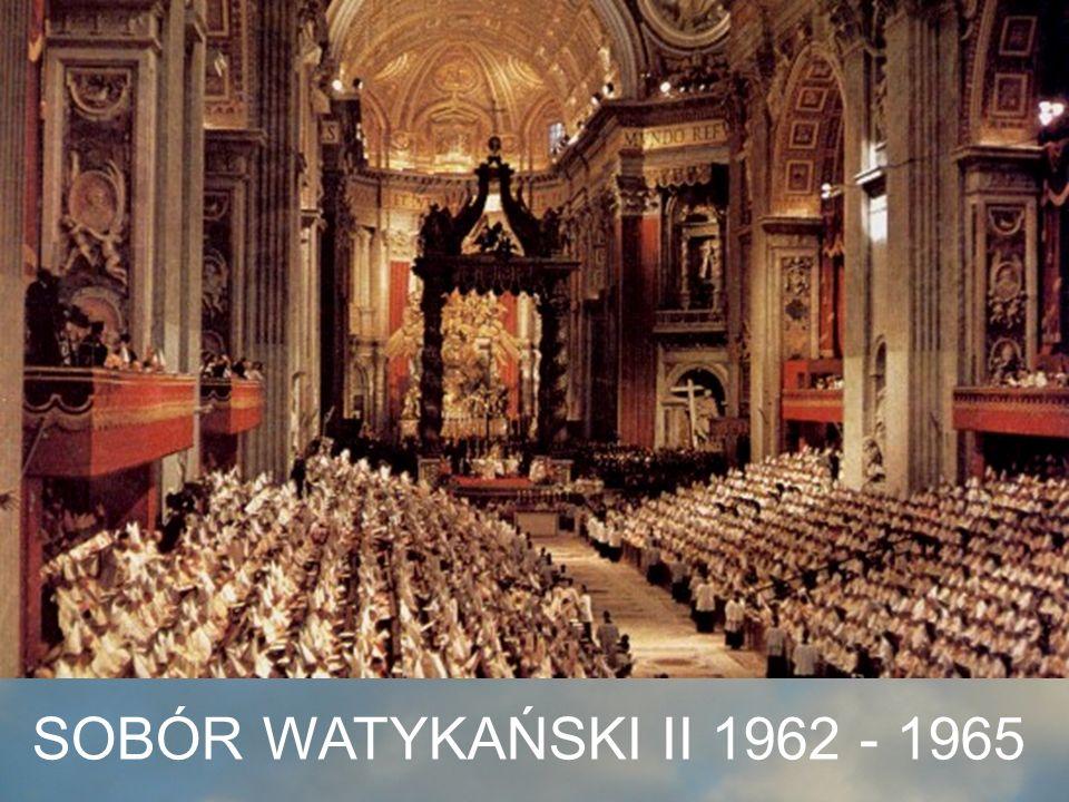 SOBÓR WATYKAŃSKI II 1962 - 1965