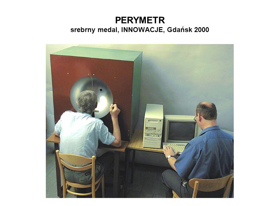 PERYMETR srebrny medal, INNOWACJE, Gdańsk 2000