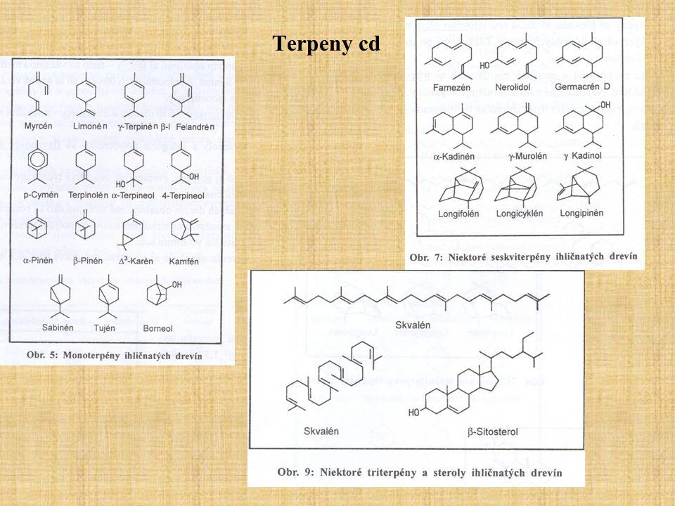 Kwasy żywiczne Kalafonia-wydzielona z żywicy po oddestylowaniu terpentyny składa się głównie z mieszaniny kwasów żywicznych.