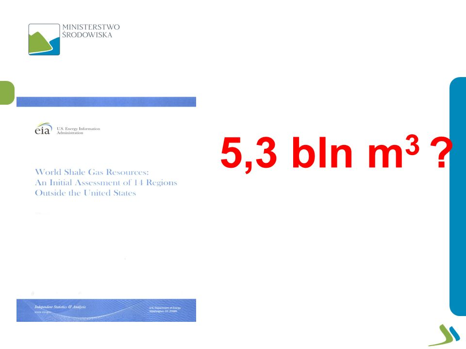 5,3 bln m 3 ?