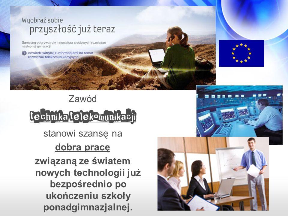 Zawód technika telekomunikacji stanowi również doskonałą podstawę do kontynuowania nauki na studiach technicznych.