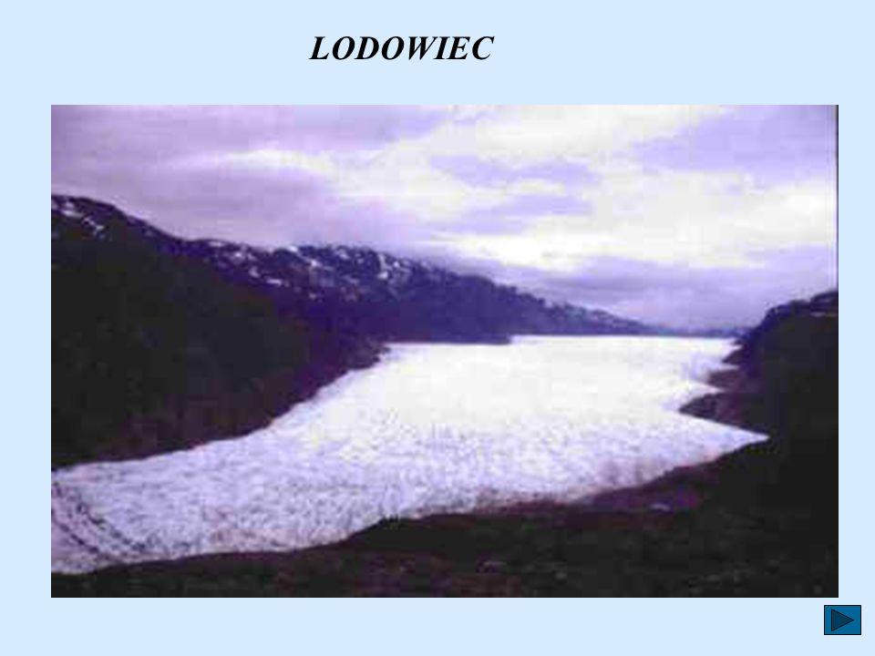 Lód, pokrywający Grenlandię, zbudowany jest z warstw dużej ilości płatków śniegu, które w ciągu wielu lat nakładały się na siebie. Między płatki śnieg