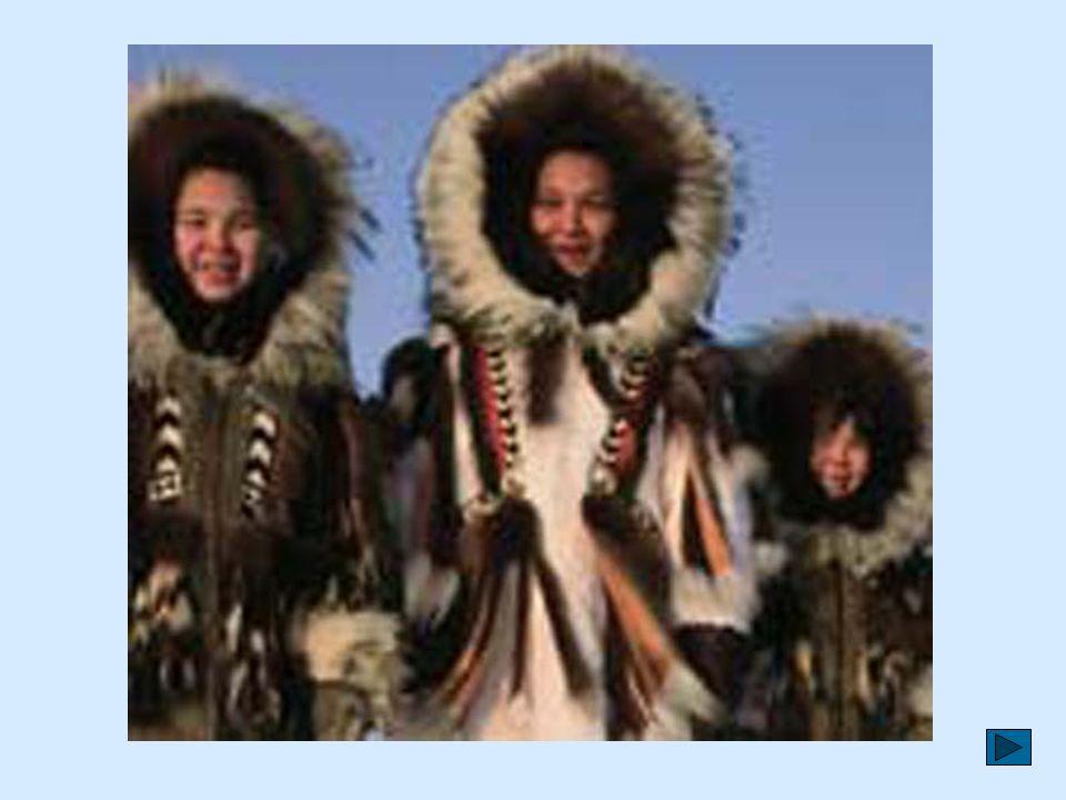 Anaruk i inni mieszkańcy Grenlandii to Eskimosi. Na całej wyspie jest ich niewielu – około 55 tysięcy. Potrafią żyć w bardzo trudnych warunkach. Są to