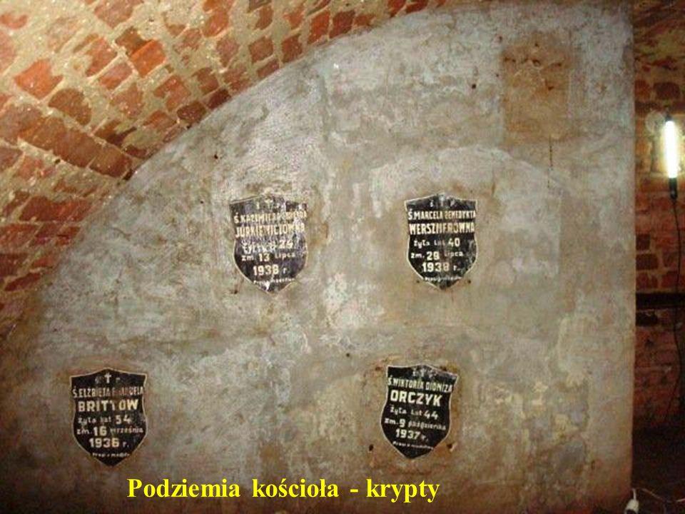 Podziemia kościoła – XVII wiek