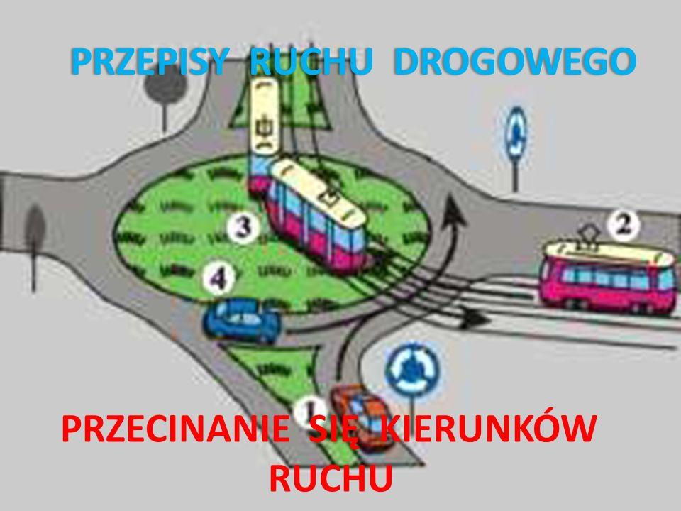 Obowiązki kierującego zbliżającego się do skrzyżowania i innych miejsc, gdzie przecinają się kierunki ruchu: zachować szczególną ostrożność, nie wjeżdżać na skrzyżowanie, jeżeli na skrzyżowaniu lub za nim nie ma miejsca do kontynuowania jazdy, nie rozdzielać kolumn pieszych, ustąpić pierwszeństwa, jeżeli to wynika z zasad, znaków lub sygnałów drogowych.