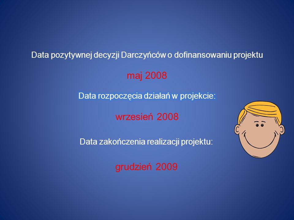 Data zakończenia realizacji projektu: grudzień 2009