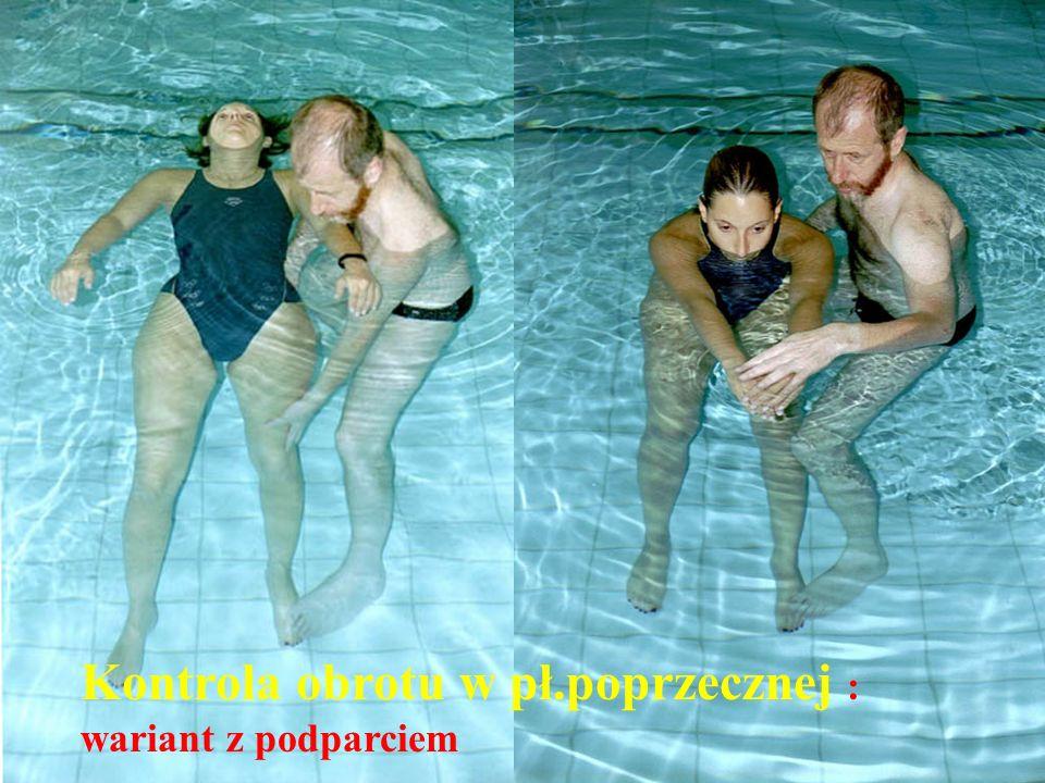 © Johan Lambeck, 2001 Kontrola obrotu w pł.poprzecznej : wariant z podparciem