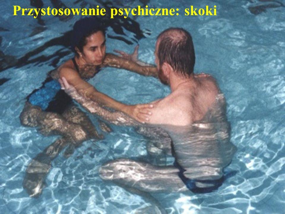 © Johan Lambeck, 2001 Połączone ruchy rotacyjne: Umiejętność ta zapewnia utrzymanie kontroli pozycji ciała w wodzie oraz odzyskiwanie bezpiecznej pozycji.