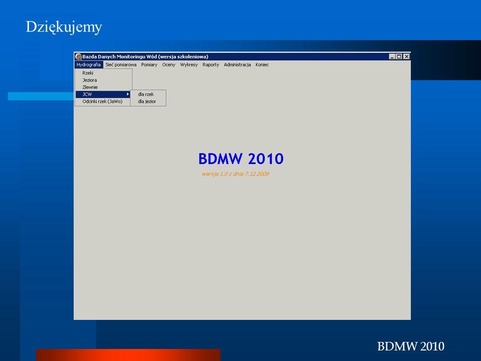 BDMW 2010 Dziękujemy